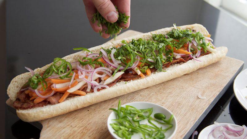Vietnamees broodje banh mi