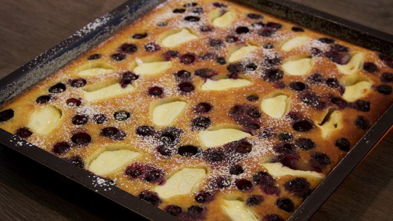 Bublanina cake recept
