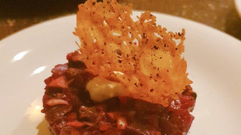 Vegetarische steak tartare