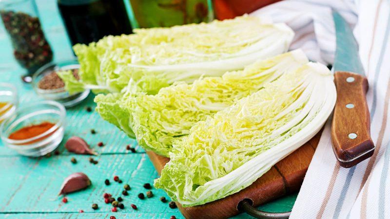 Kimchi recept met Chinese kool